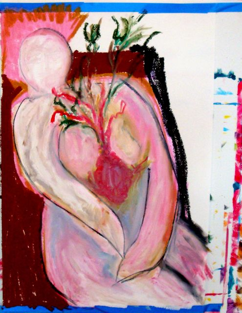 art therapy naked heart
