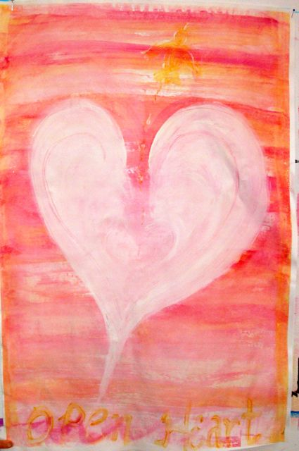 art therapy open heart