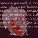 Comparing Ourselves To Others Sets Us Up For Failure