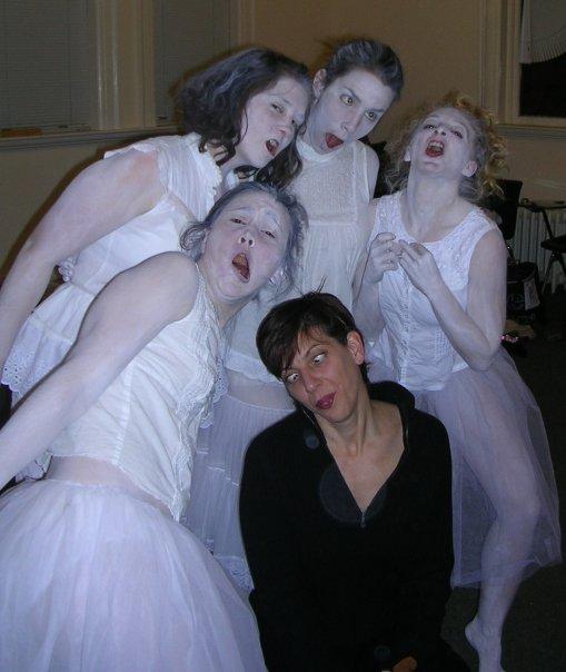 pic performance art sabrina santa clara choreographer intransience 2009 cast pose