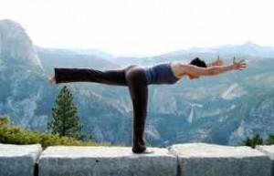 sabrina santa clara yoga warrior 3