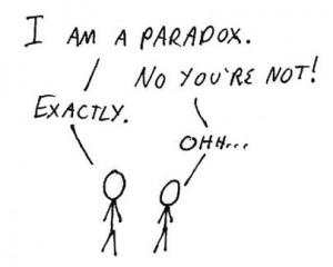 clip i am a paradox