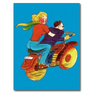 clip motorcycle girl