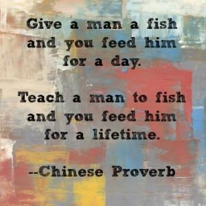 cilip teach man to fish