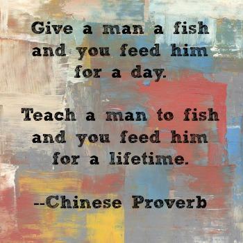 teach a man to fish bible